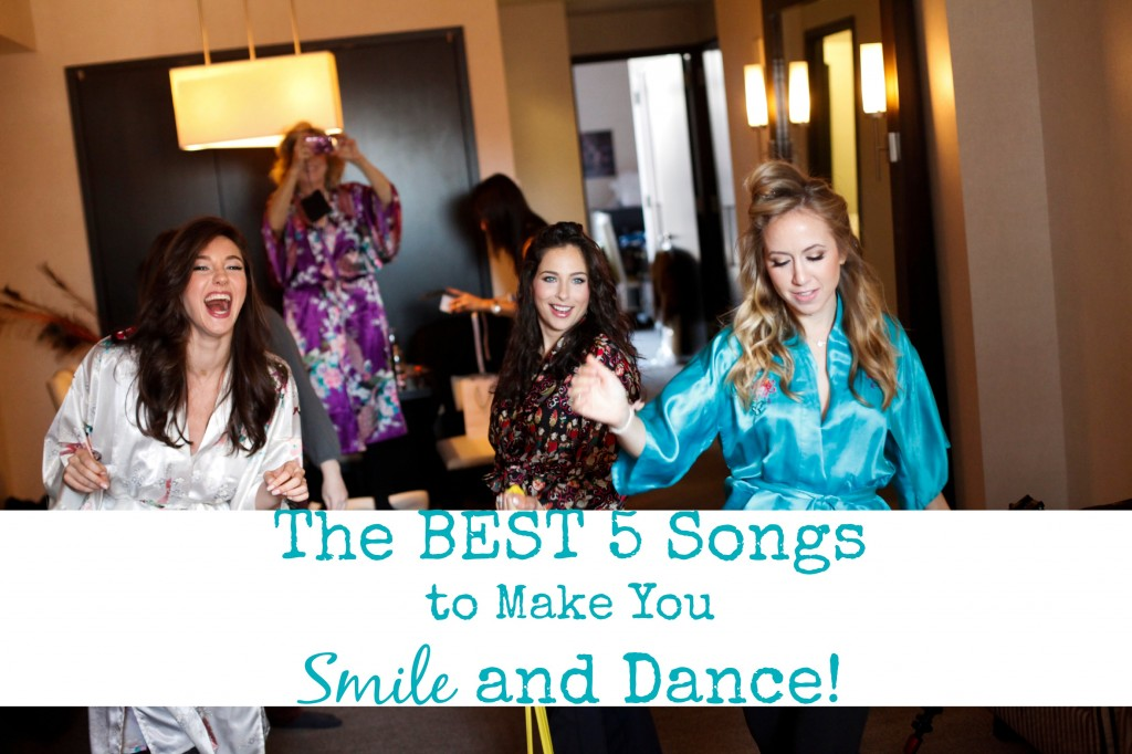 5 songs to make you smile and dance