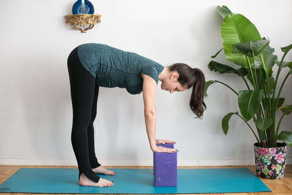 Be Well with Baby - 5 yoga modifications to do during pregnancy by Arielle Haspel and Melissa Green on bewellwitharielle.com
