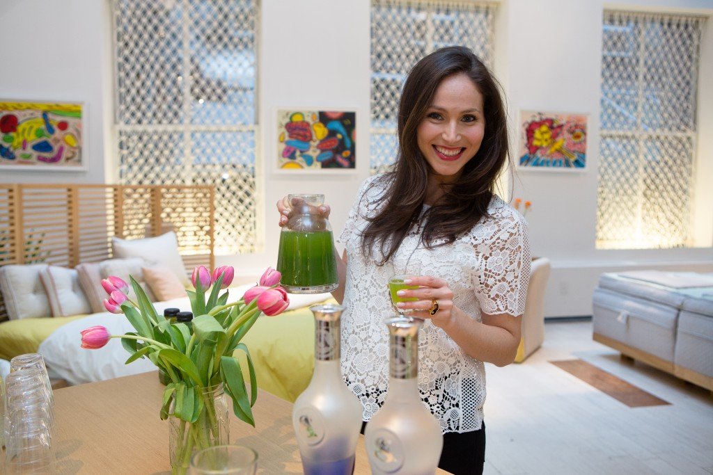 arielle haspel spring event nyc cocomat detox