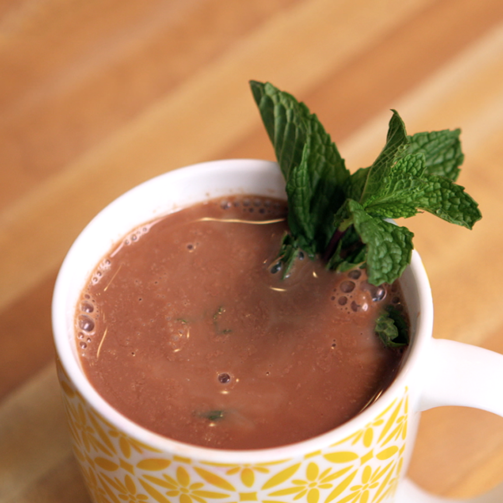 mint hot chocolate by arielle haspel on healthination