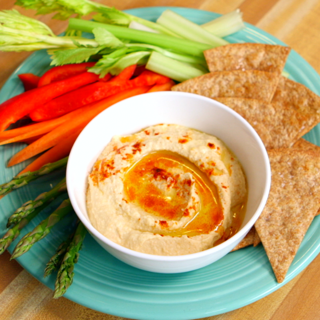 clean eating chips and dip hummus healthination by arielle haspel