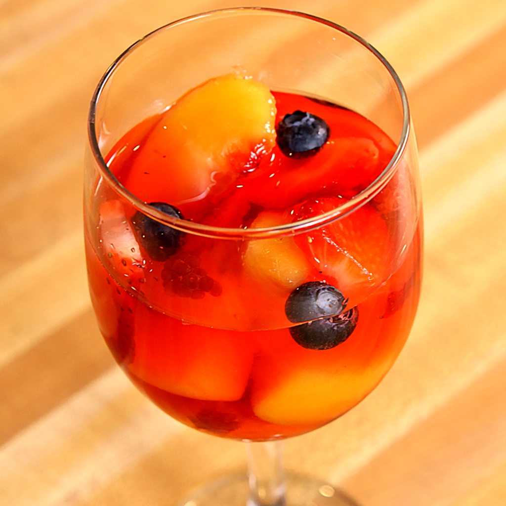 clean eating fruit sangria