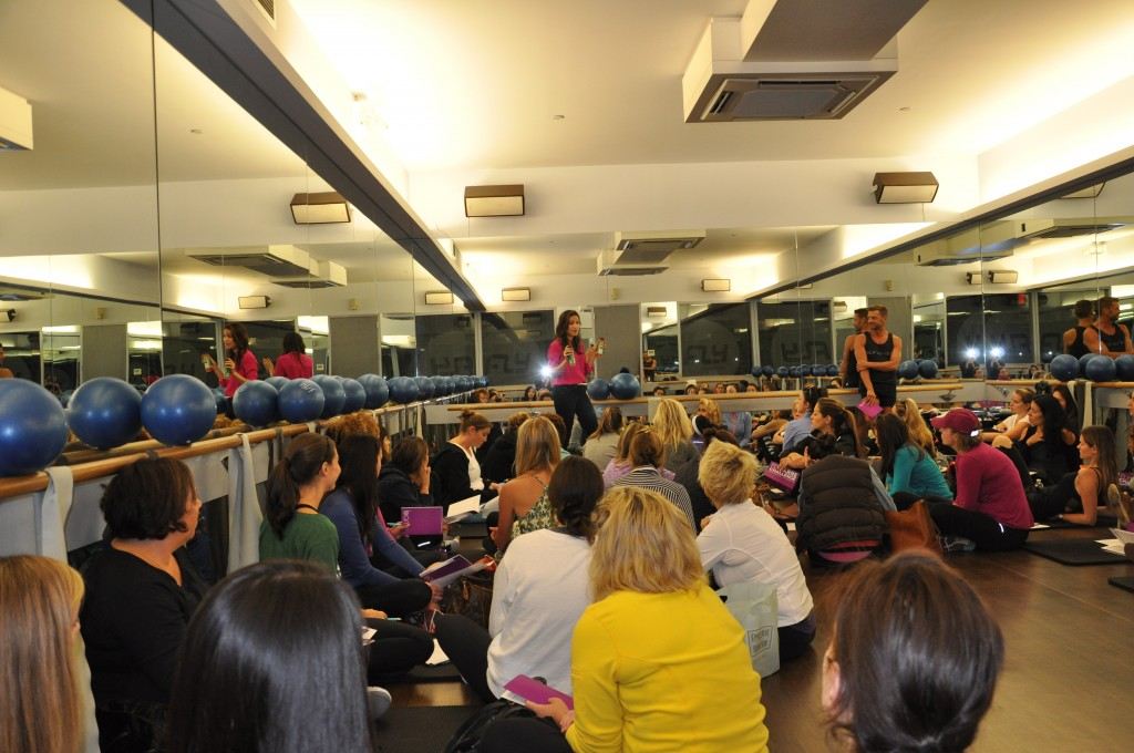 flybarre lecture by arielle haspel from bewellwitharielle.com