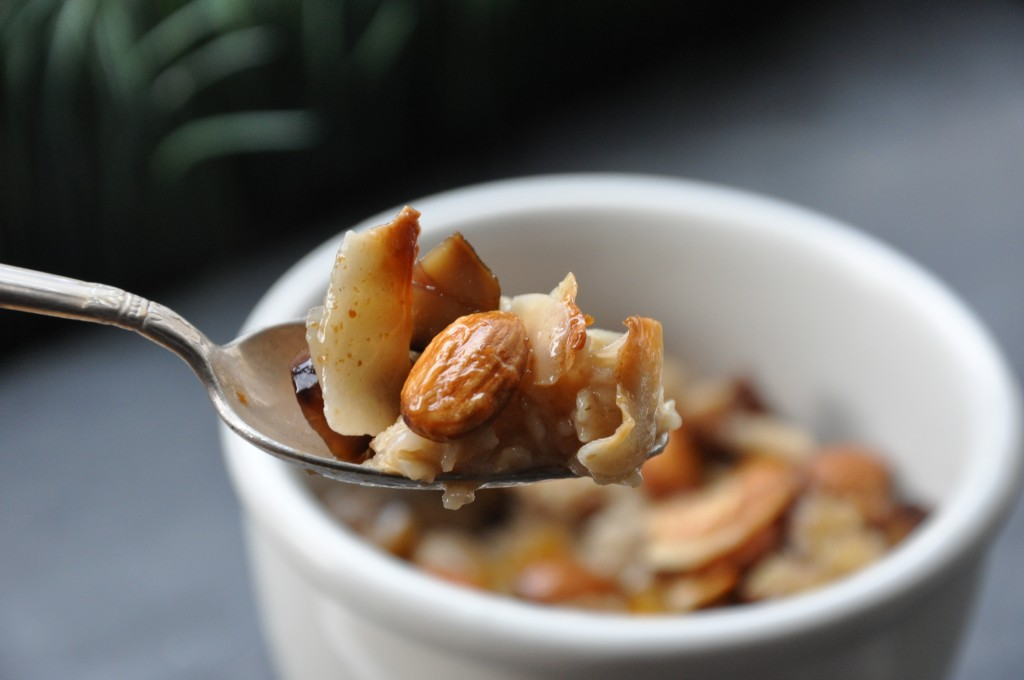 chestnut praline latte oatmeal by be well with arielle - arielle haspel