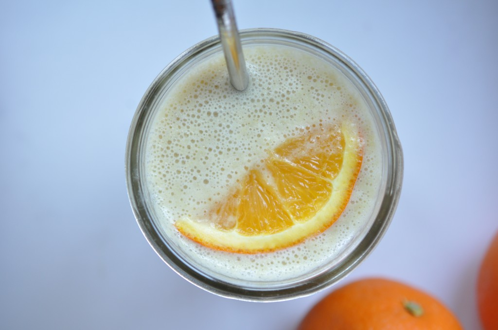 "Orange ""Creamsicle"" Smoothie by Be Well with Arielle"