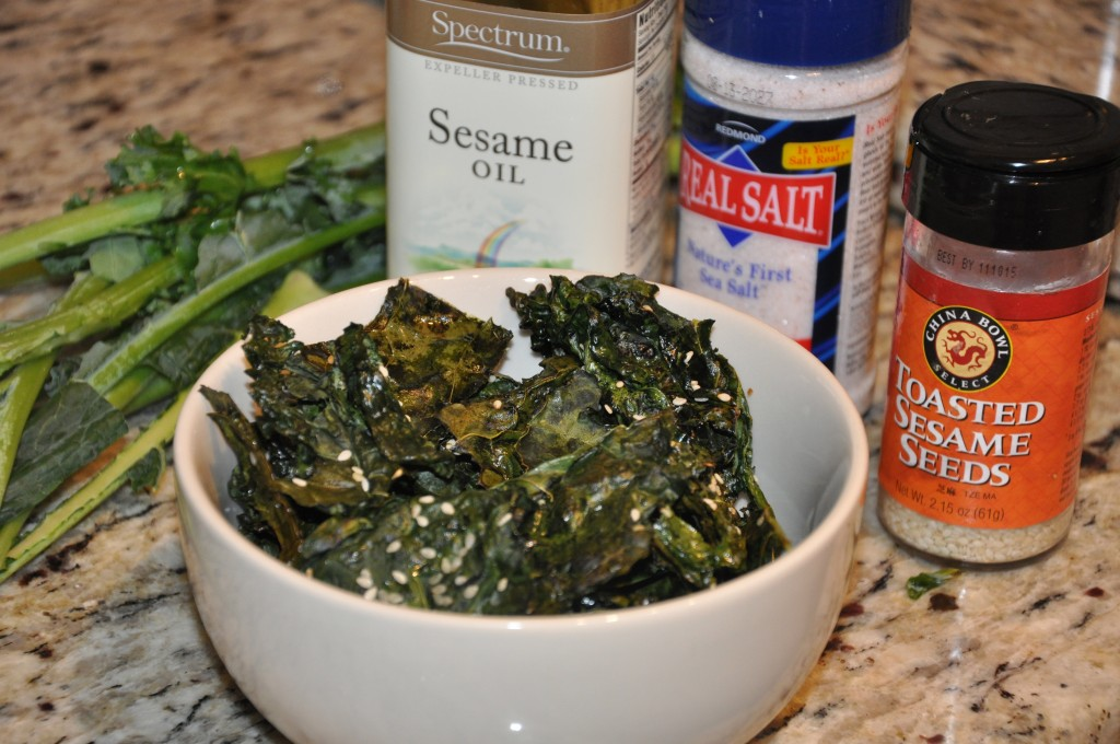 kale chips by be well with arielle