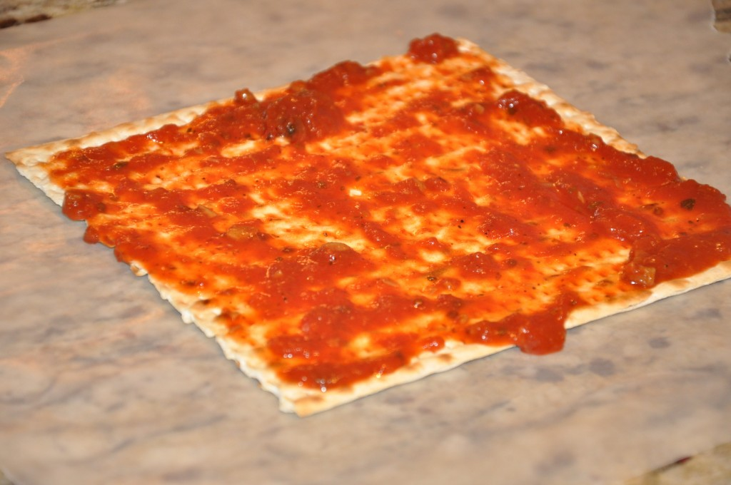 Skinny Passover Matzo Pizza Recipe — Dishmaps
