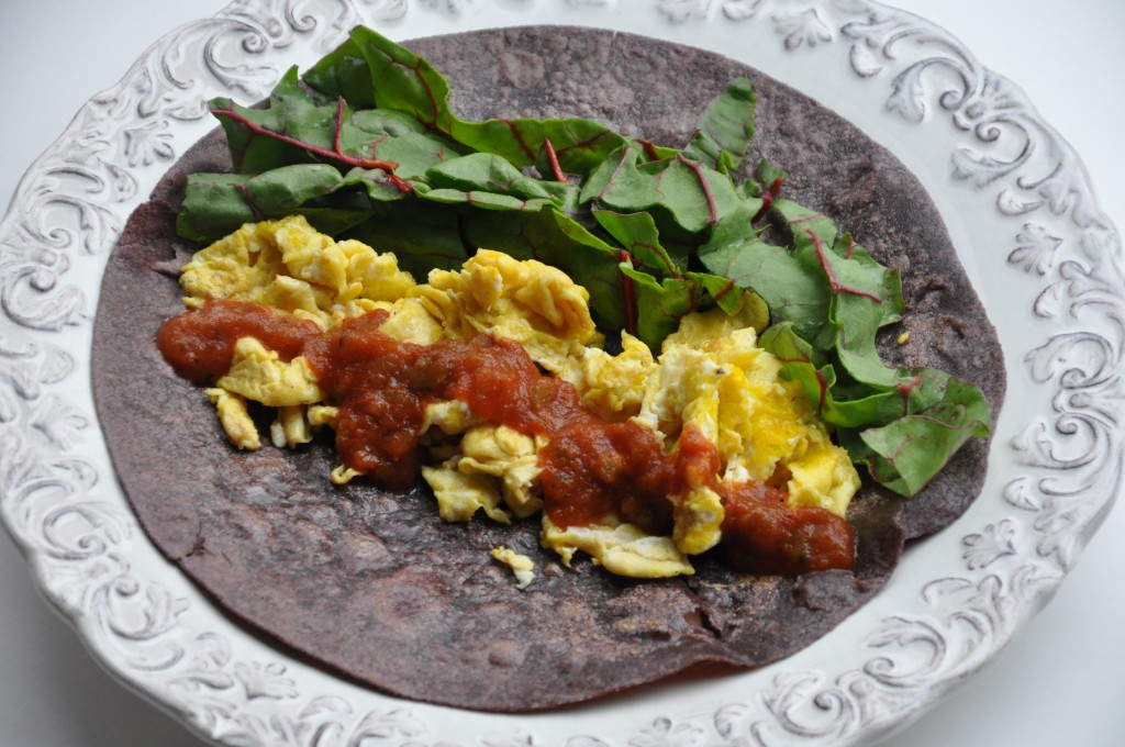 breakfast burrito by arielle haspel of bewellwitharielle.com