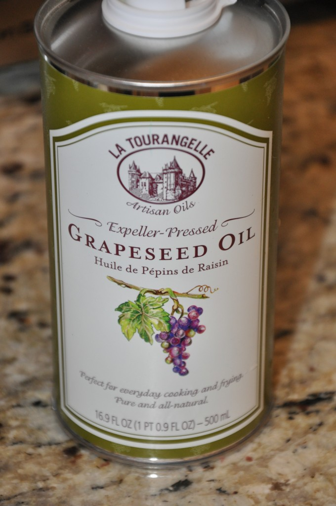 grapeseed oil be well with arielle
