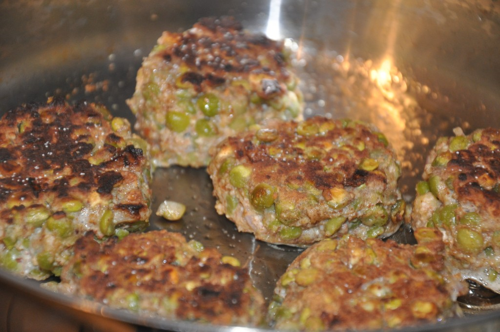 split pea burgers- be well with arielle