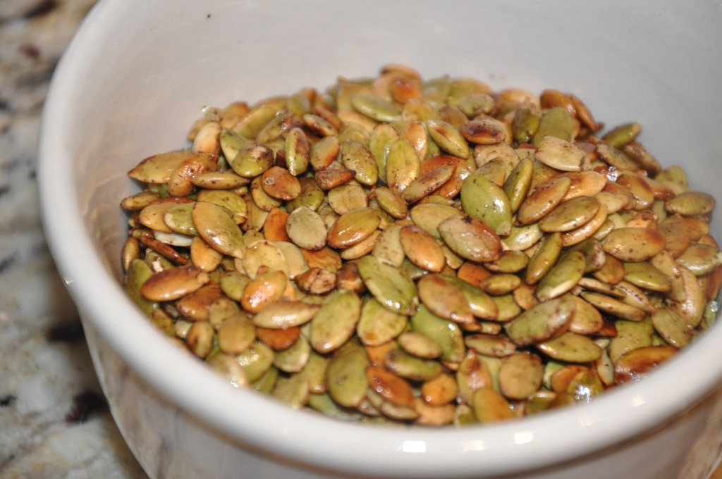 Toasted Cinnamon Pumpkin Seeds - Be Well With Arielle