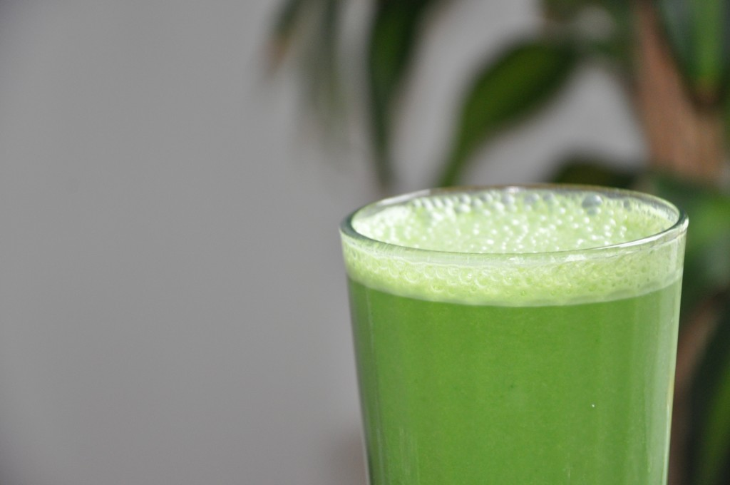 Green Pina Colada Smoothie!