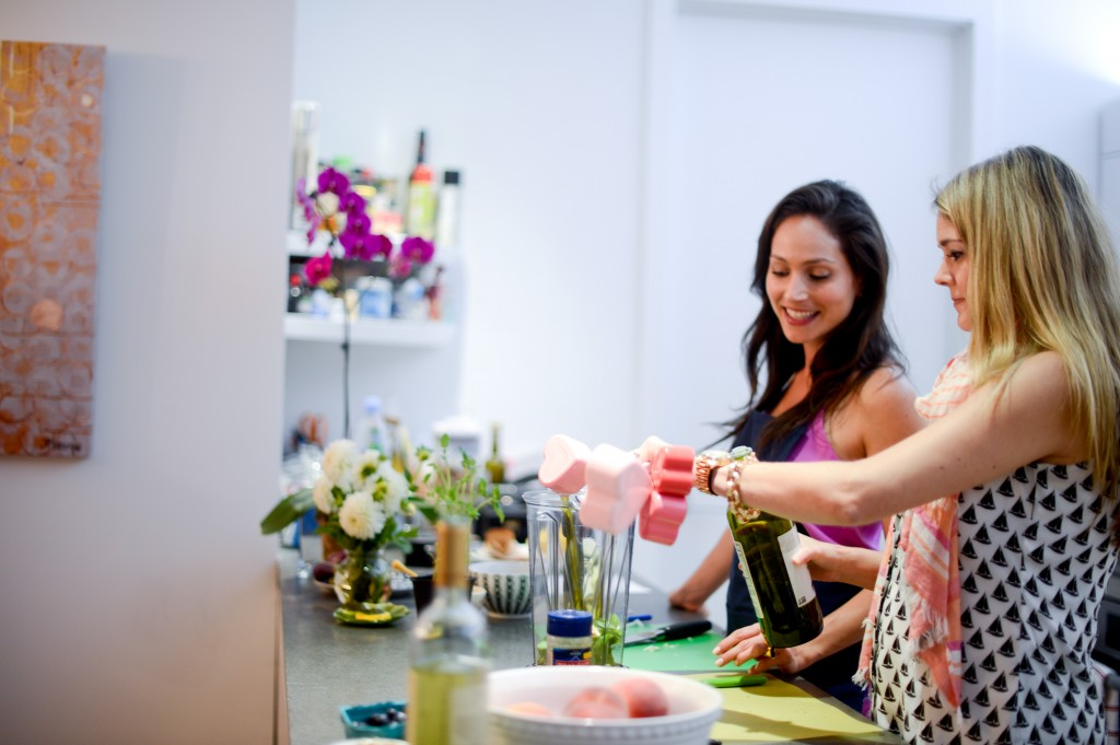 be well with arielle cooking class hosted by fashionable hostess