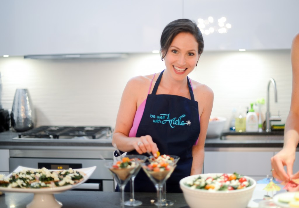 arielle haspel cooking class in nyc - healthy, simple and delicious recipes