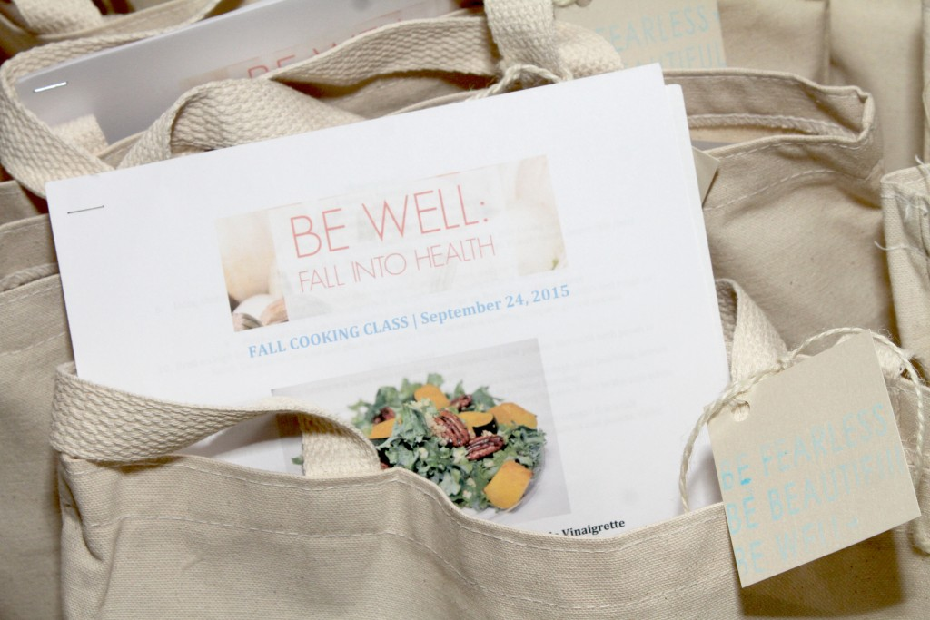 be well with arielle's fall 2015 event