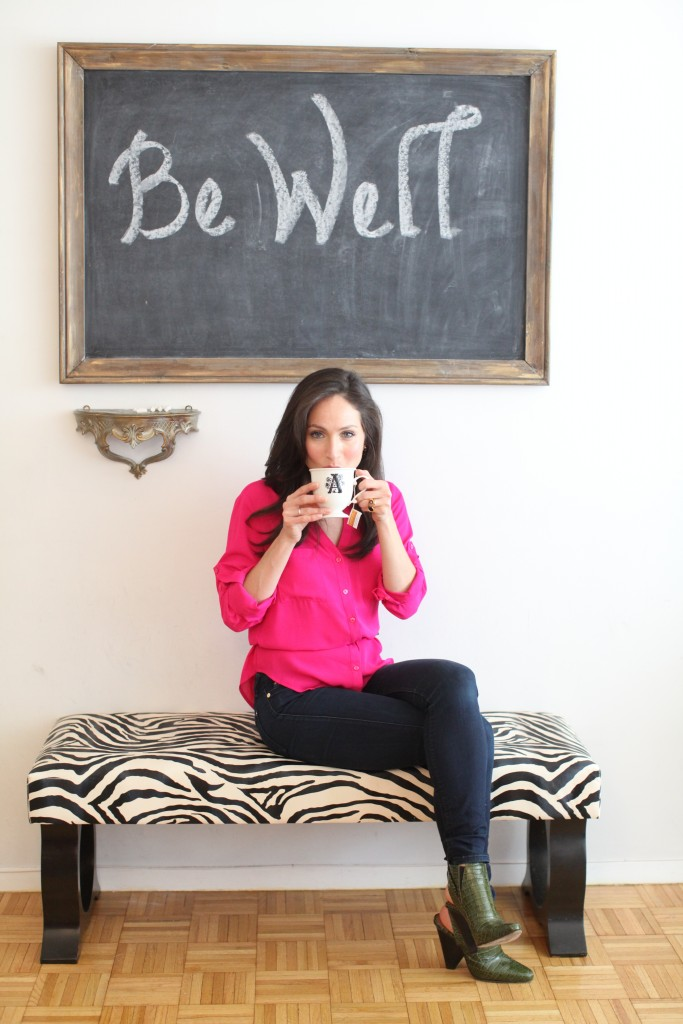 arielle haspel bewellwitharielle.com tip to wind down before bed for better sleep yoga and food