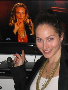 Marlee Matlin wearing Be Well with Arielle necklace on Episode 3, Season 3 of Celebrity Apprentice! March 28, 2011
