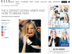 Arielle FIerman featured on Elle.com from bewellwitharielle.com