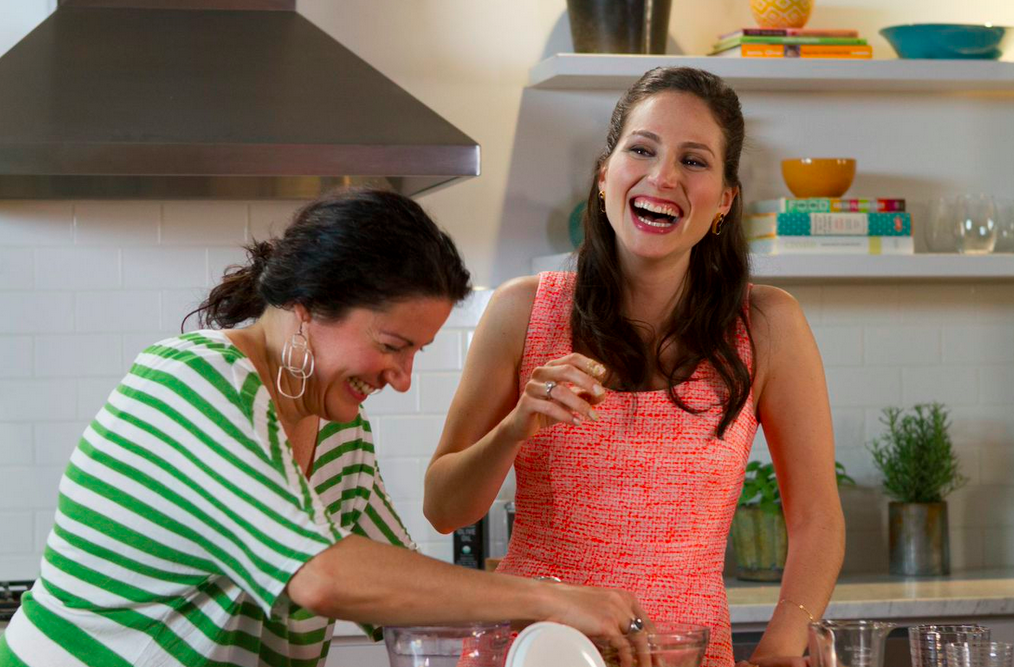 SGlamour magazine cooking show with arielle haspel