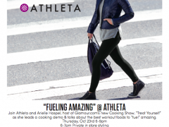 Athleta invite with arielle haspel