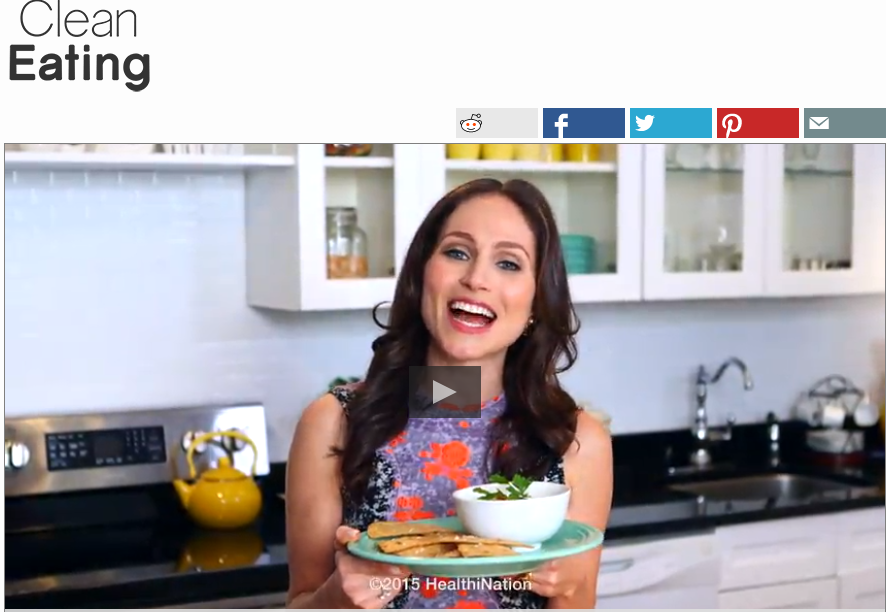 how to make healthy clean eating chips and dip from arielle haspel