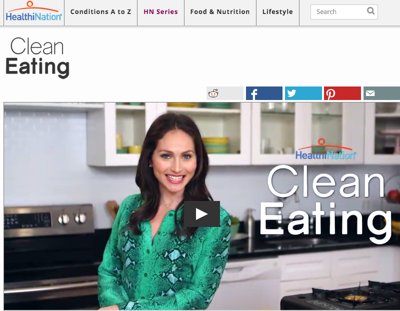5 rules of clean eating by arielle haspel via healthination