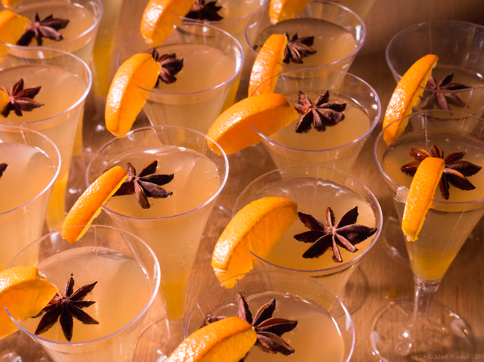 Citrus Sangria with Star Anise by bewellwitharielle.com