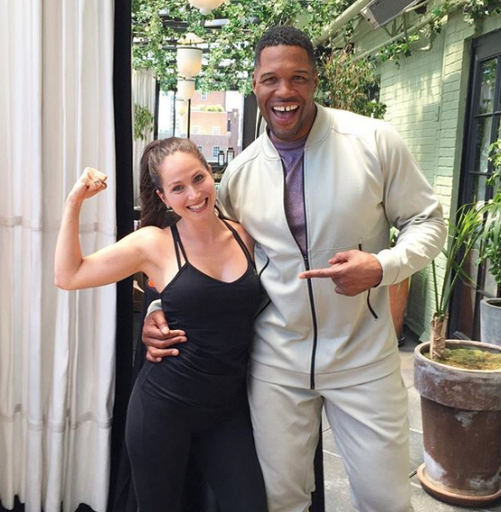 michael strahan and latreal mitchell for meta appetite control