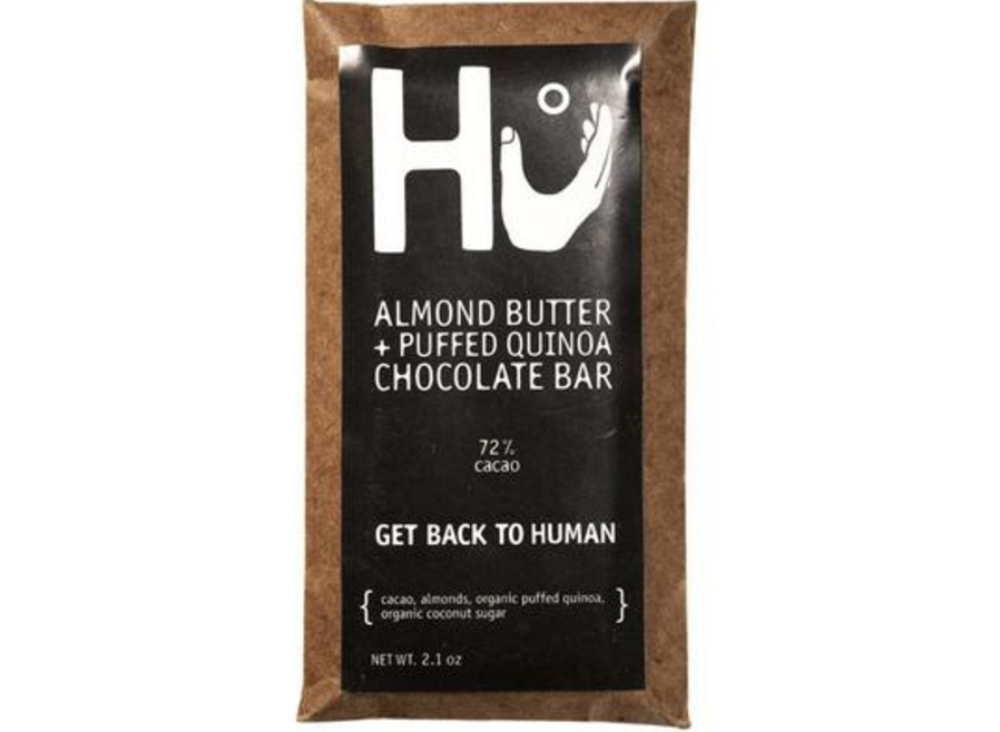 hu kitchen chocolate almond butter quinoa bar