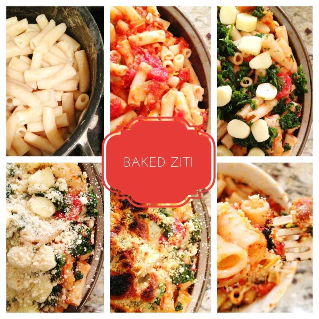 Healthy Spinach Baked Ziti - Be Well With Arielle