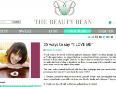 35 Ways to Love ME! Beauty Bean Feb 2011