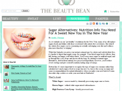 Click on photo to read full article from TheBeautyBean.com