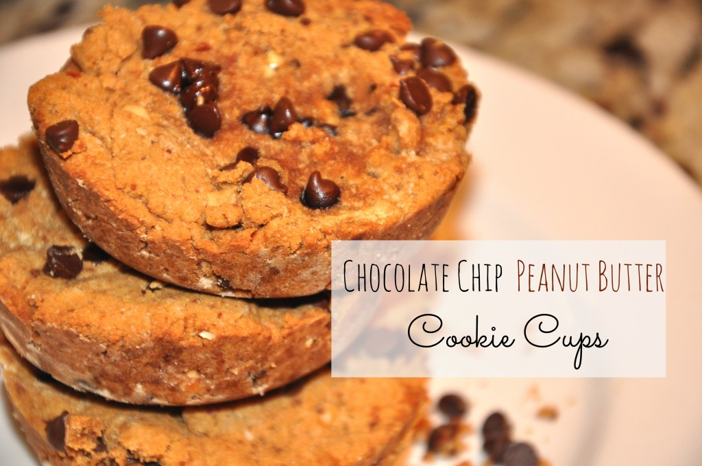 the best healthiest chocolate chip peanut butter cookie cups by arielle haspel