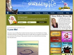 Featured in Crazy Sexy Life! December 14, 2010
