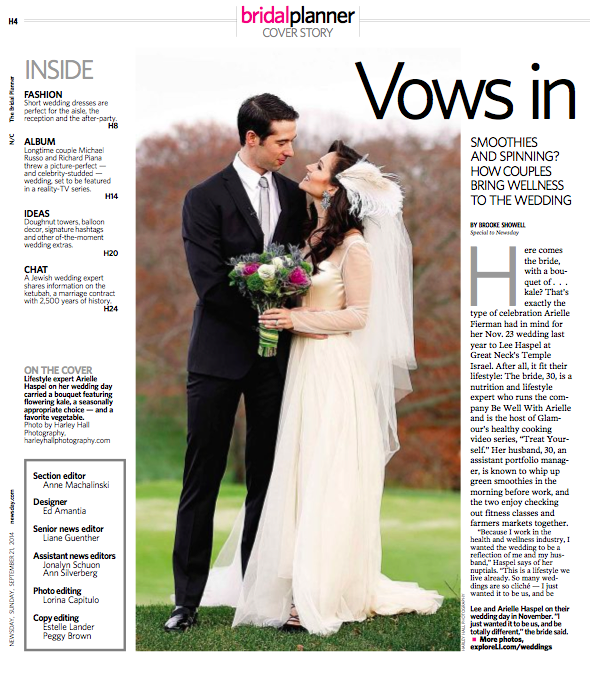 arielle haspel newsday healthy wedding feature p 2