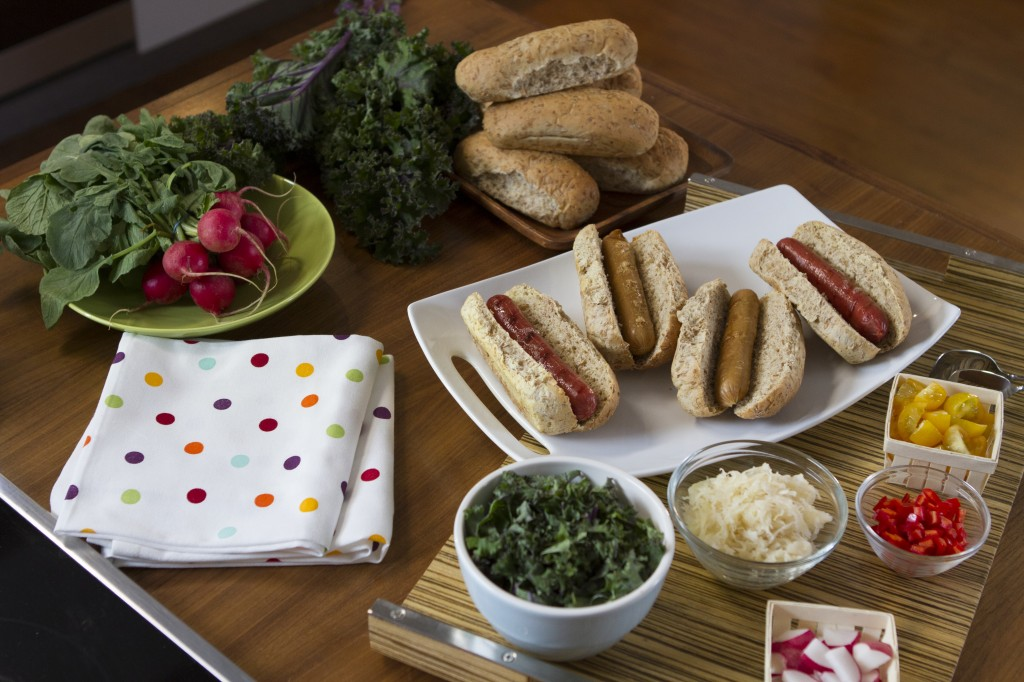 healthy hot dog by arielle haspel on glamour.com