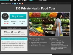 Supermarket Tours on Lifebooker.com, April 5th, 2011