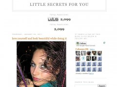 Featured in Little Secrets for You - January 20, 2011