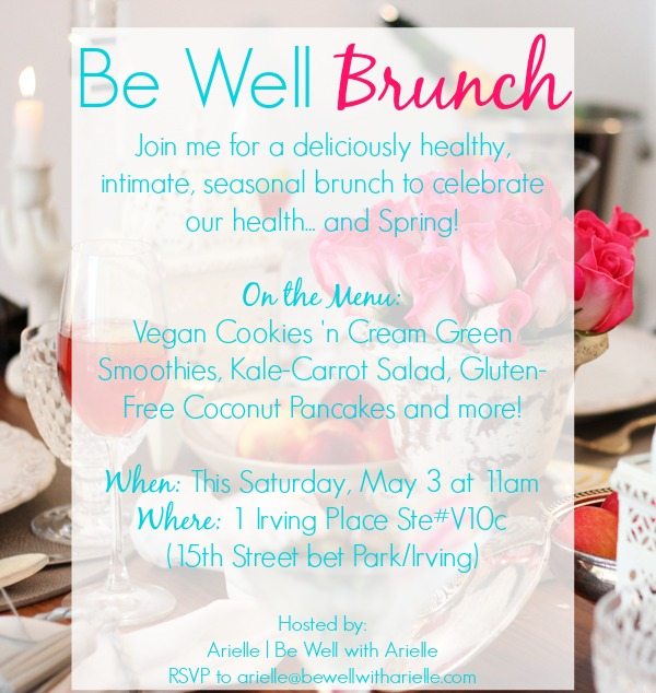 spring be well brunch invite by arielle haspel