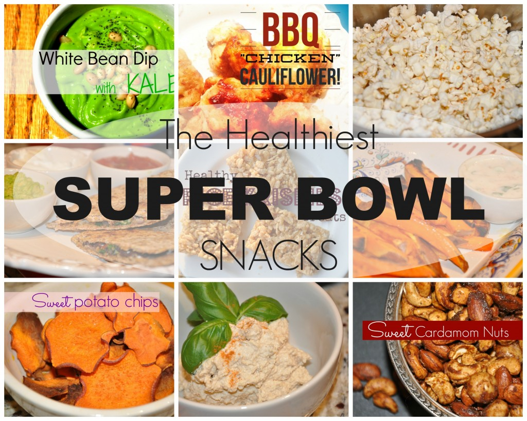 the healthiest superbowl snacks