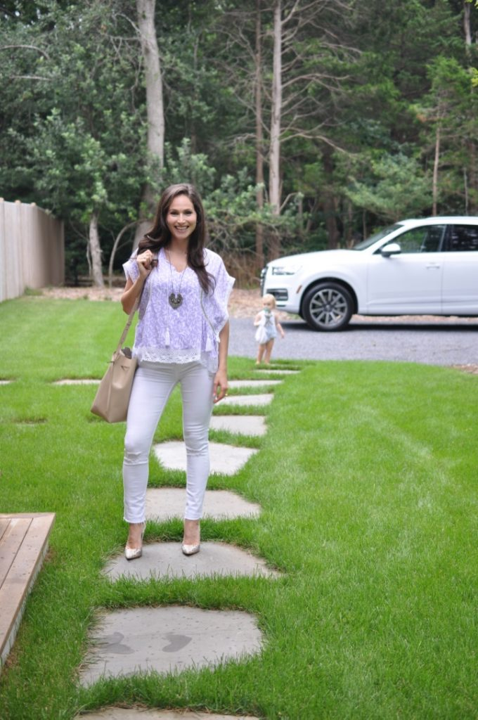 arielle haspe of be well with arielle heading to hamptons party
