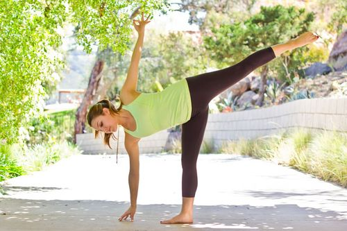 danielle cuccio and arielle haspel. best food and yoga poses for better digestion, de-stress and detox