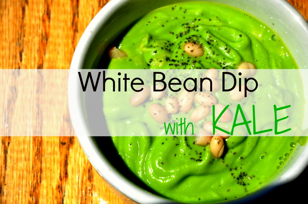 White Bean Dip with Kale - Be Well With Arielle
